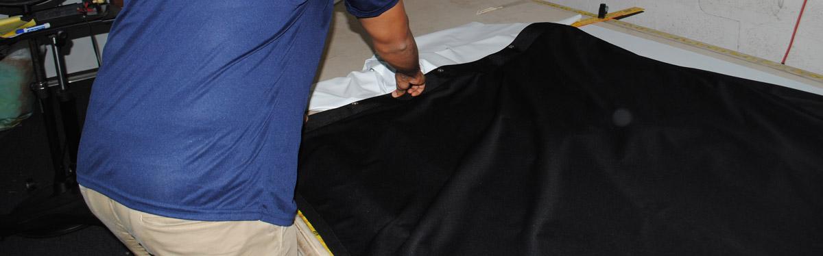 SEWING ROOM FABRICS CUTTING BOARD