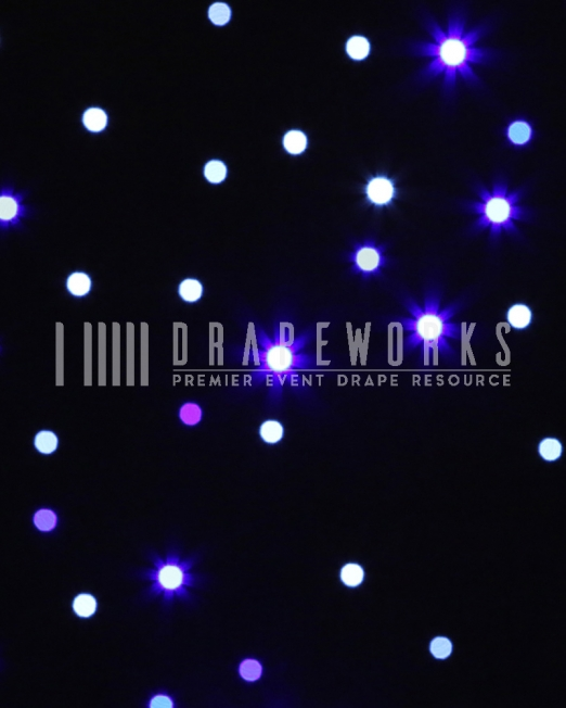 LED STAR DRAPE RENTAL