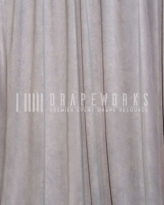 PIPE AND DRAPE GREY VELOUR RENTAL MIAMI